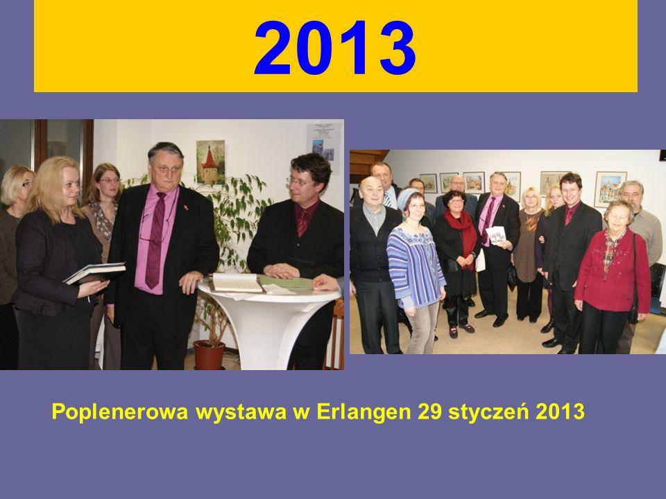 2013 Poplenerowa wystawa w Erlangen 29 styczeń 2013