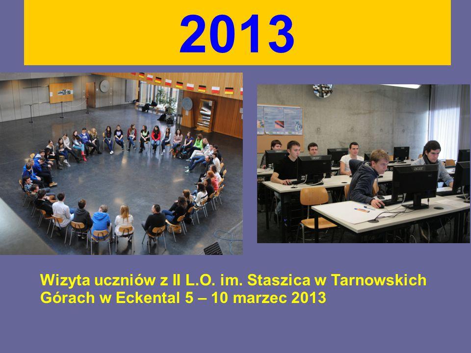 2013 Wizyta uczniów z II L.O. im. Staszica w Tarnowskich Górach w Eckental 5 – 10 marzec 2013