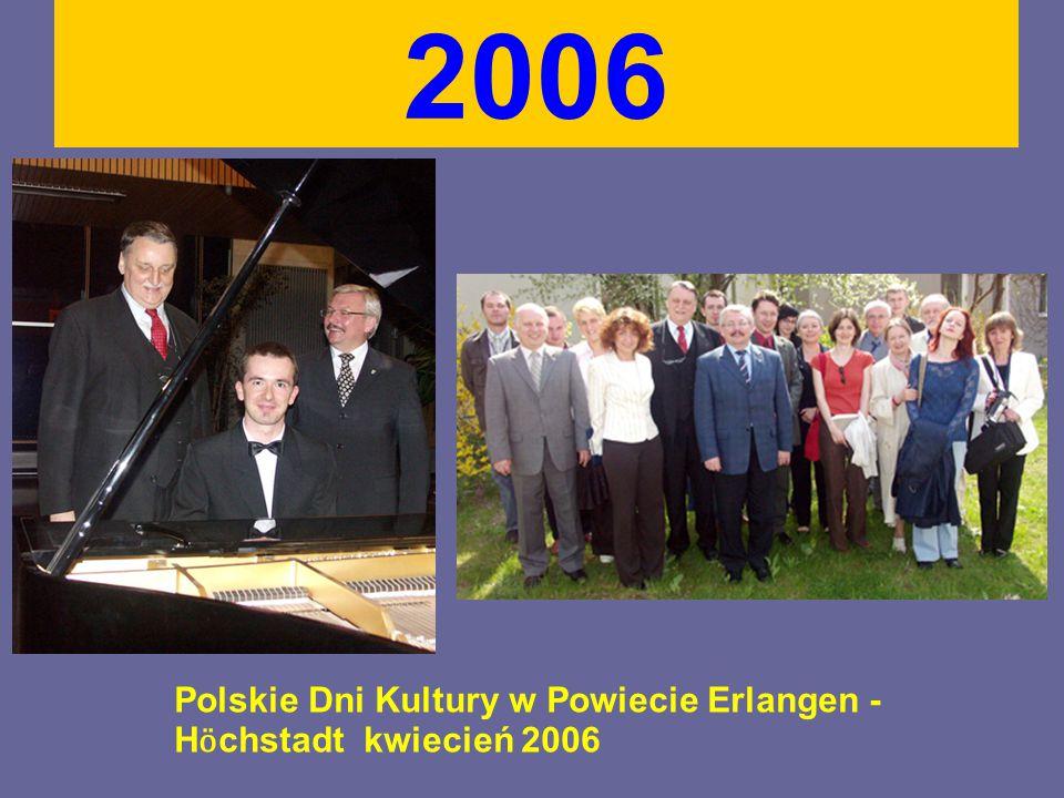 2006 Wizyta w Tarnowskich Górach. Posadzenie drzewka przyjaźni 27 maj 2006