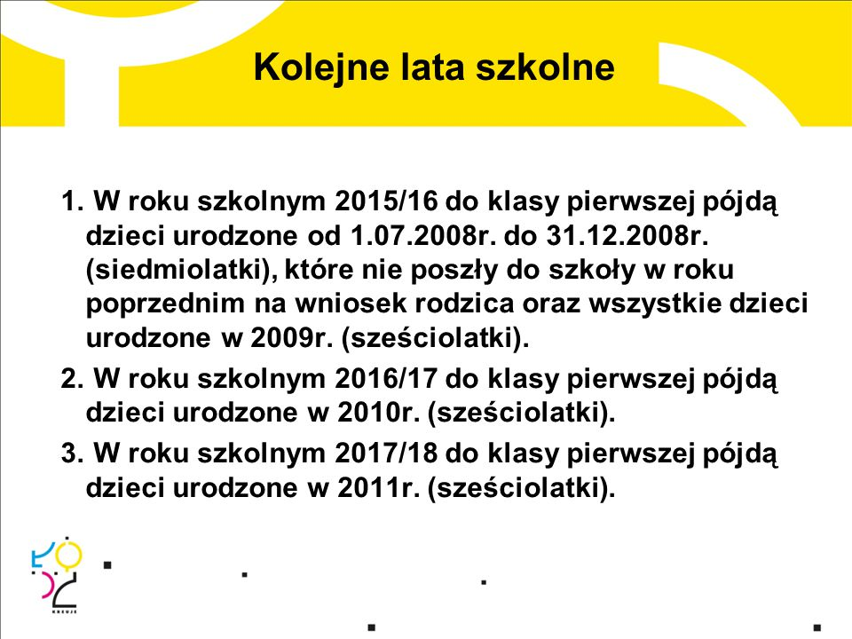 Zasady rekrutacji Zgodnie z ustawą z dnia 6 grudnia 2013 r.