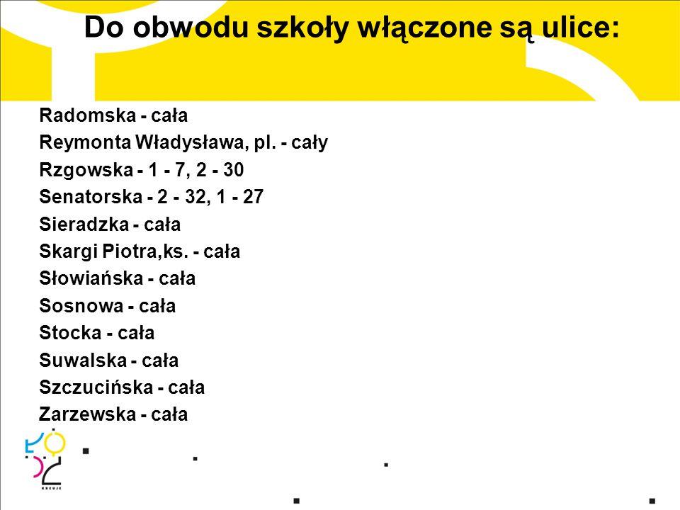 Nabór do klas pierwszych trwa od 3 do 31 marca 2014 r.