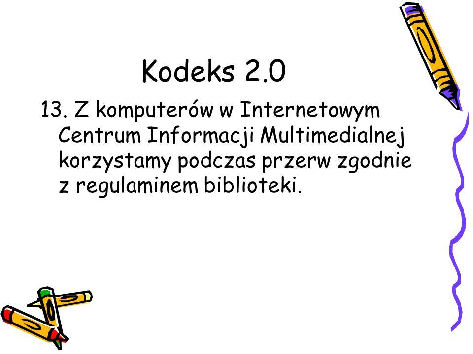 Kodeks 2.0 13.