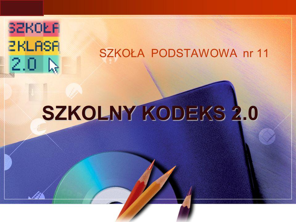 LOGO SZKOŁA PODSTAWOWA nr 11 SZKOLNY KODEKS 2.0
