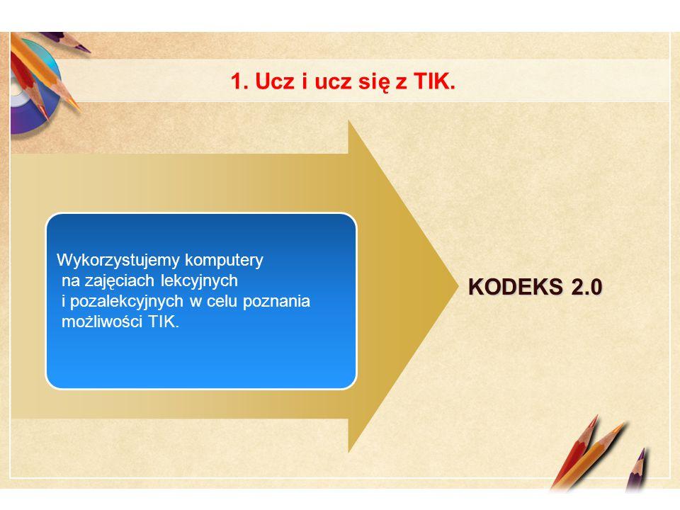 Click to edit Master text styles LOGO 1. Ucz i ucz się z TIK.
