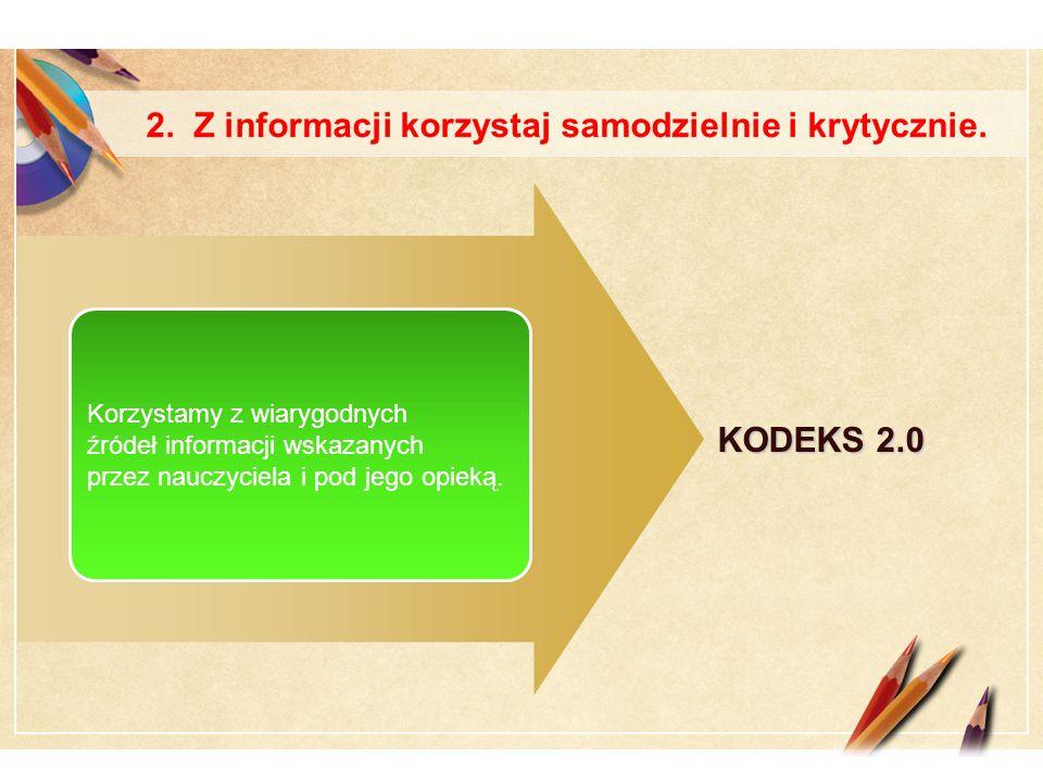 Click to edit Master text styles LOGO 2. Z informacji korzystaj samodzielnie i krytycznie.
