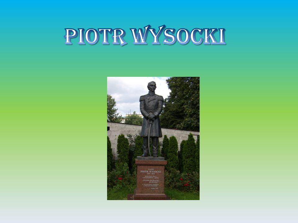 Piotr Jacek Wysocki ur.10 września 1797 w Winiarach obecnie dzielnicy Warki, zm.