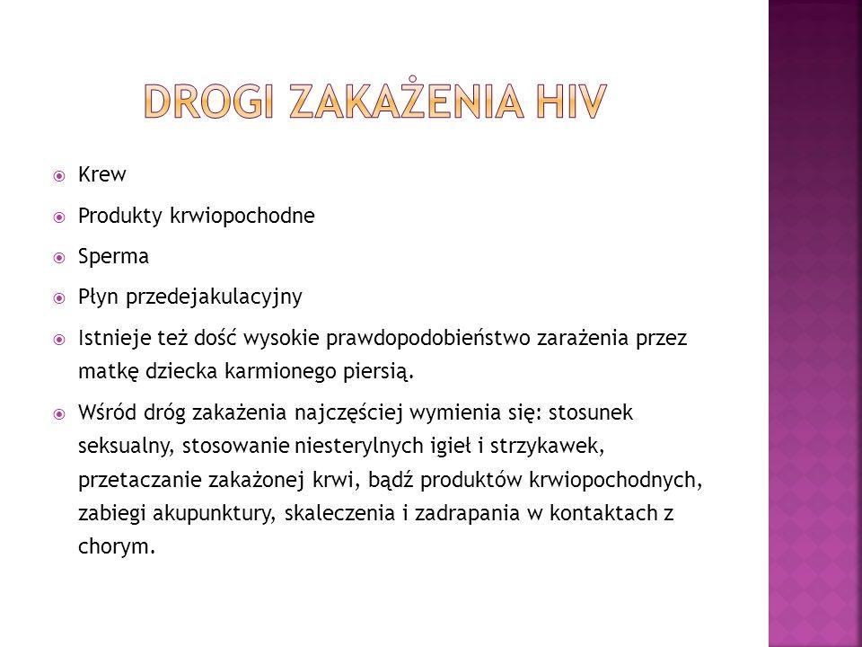  Nie istnieje medykament pozwalający na wyleczenie AIDS, dotychczas opracowano jedynie preparaty utrudniające namnażanie się wirusa HIV i wniknięcie do komórek.