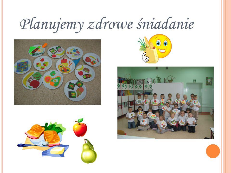 Uczestniczymy w pogadance utrwalającej zasady zdrowego odżywiania