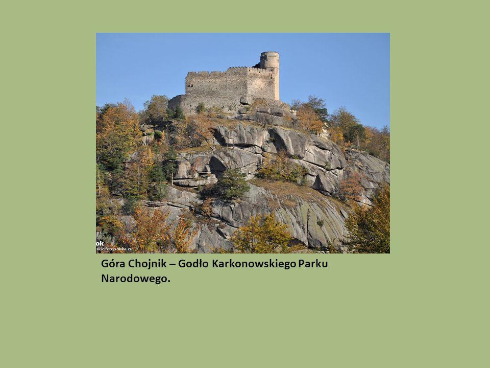 Góra Chojnik – Godło Karkonowskiego Parku Narodowego.