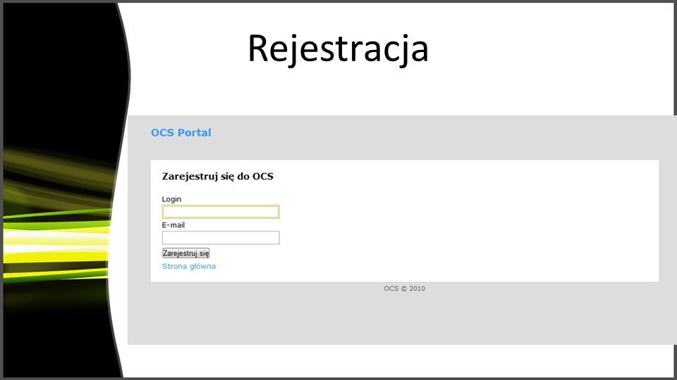 Rejestracja