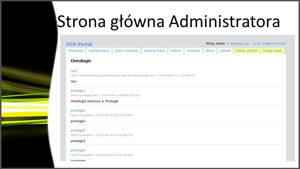 Strona główna Administratora