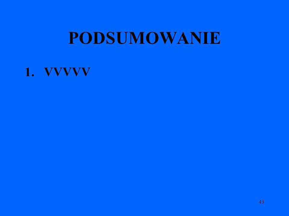 43 PODSUMOWANIE 1.VVVVV
