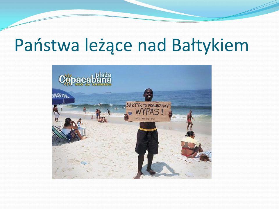 Państwa leżące nad Bałtykiem