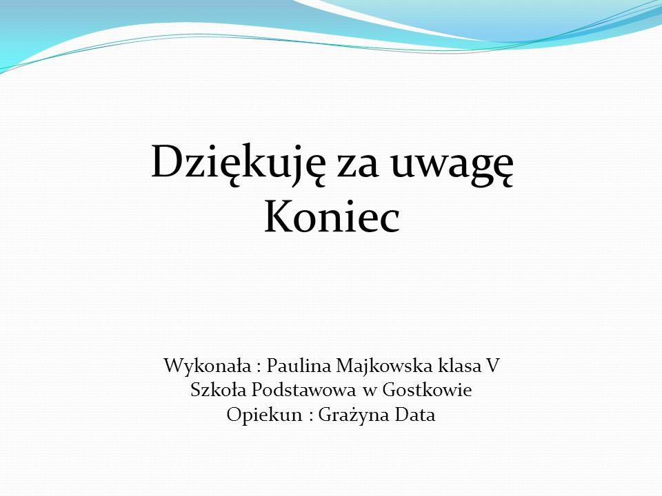 Korzystałam z : Wikipedia Wolna Encyklopedia, http://www.bytow.com.pl/articles/97 http://www.pzwbytow.cba.pl/lowiska.html http://www.pomorskie.eu/pl/p