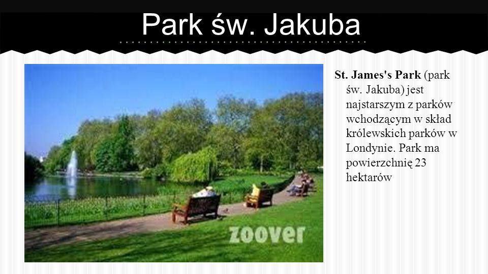 Park św.Jakuba St. James s Park (park św.