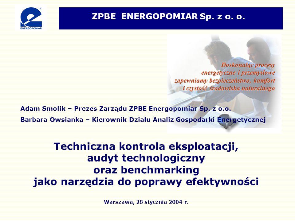 Adam Smolik – Prezes Zarządu ZPBE Energopomiar Sp.