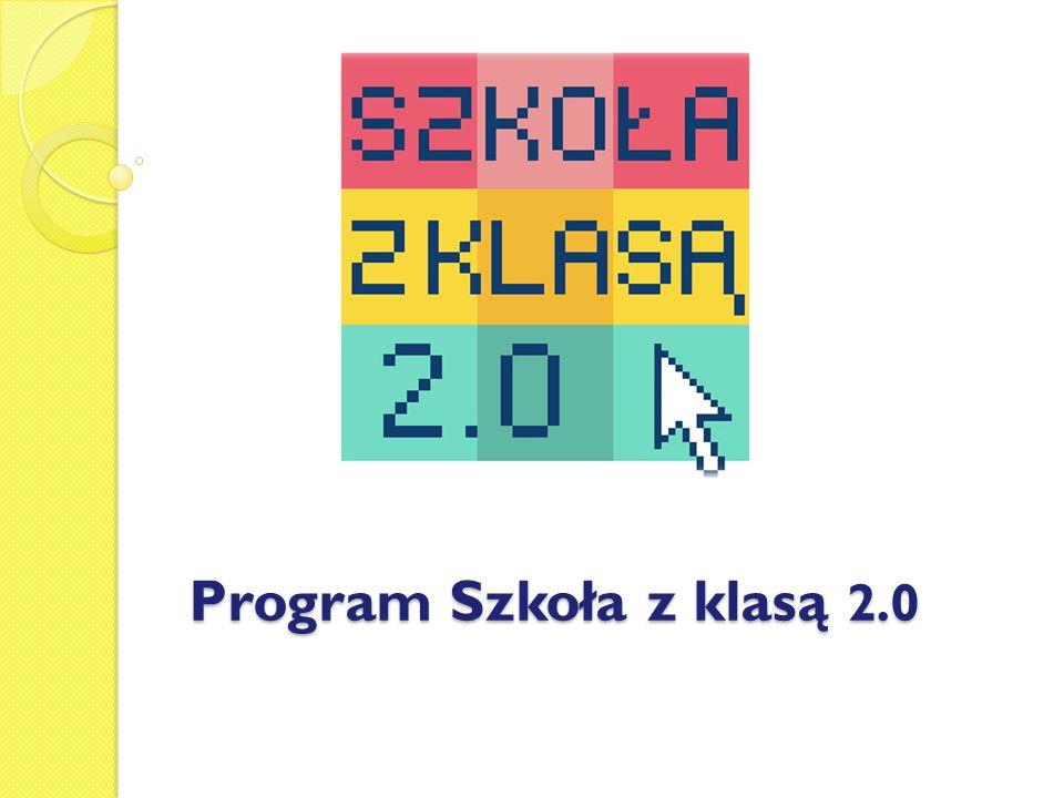 W roku szkolnym 2012/2013 nasza szkoła po raz drugi zgłosiła swój udział w programie Szkoła z klasą 2.0
