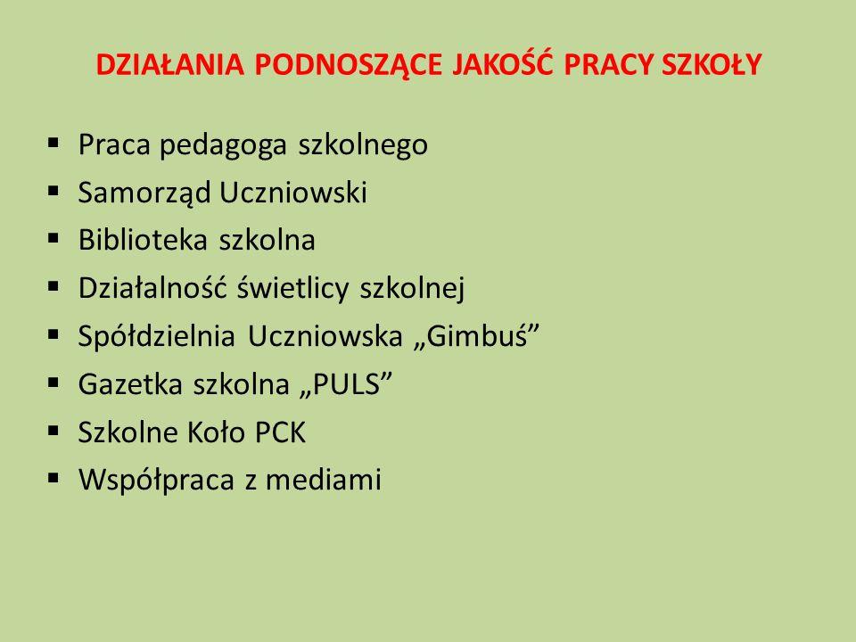 Współpraca z instytucjami  Organem prowadzącym i nadzorującym Szkołę  Poradnią Psychologiczno-Pedagogiczną w Makowie Maz.
