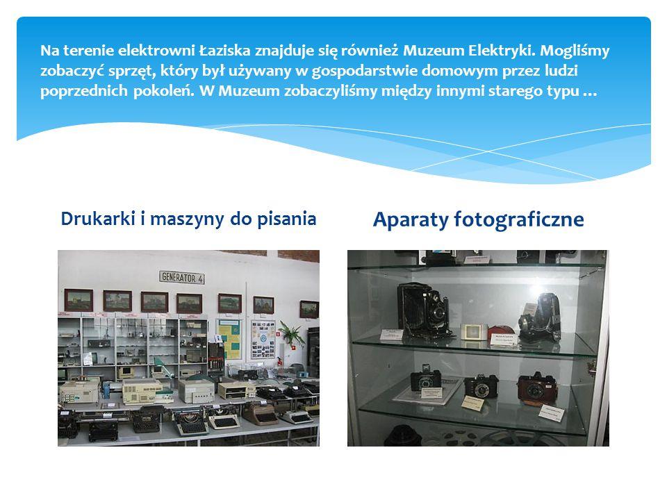 Na terenie elektrowni Łaziska znajduje się również Muzeum Elektryki.