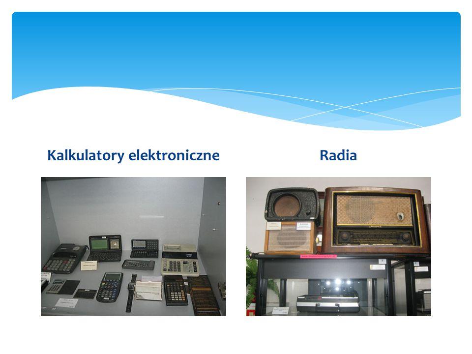 Kalkulatory elektroniczneRadia
