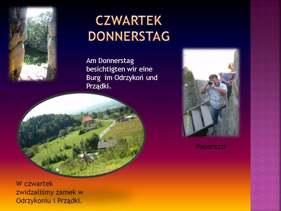 Paparazzi W czwartek zwidzaliśmy zamek w Odrzykoniu i Prządki.