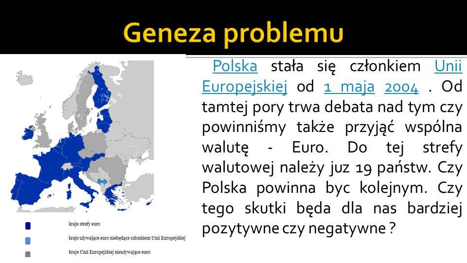 Polska stała się członkiem Unii Europejskiej od 1 maja 2004.