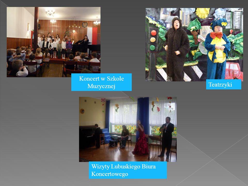 Koncert w Szkole Muzycznej Teatrzyki Wizyty Lubuskiego Biura Koncertowego