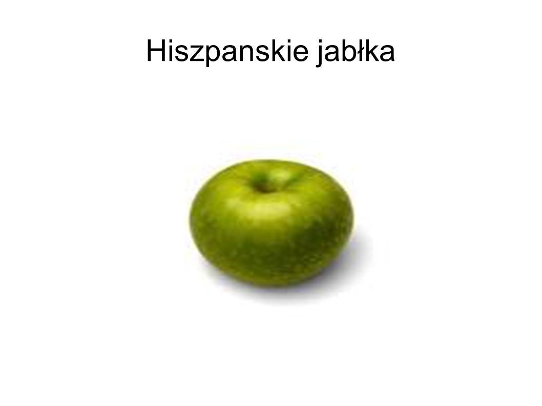 Hiszpanskie jabłka