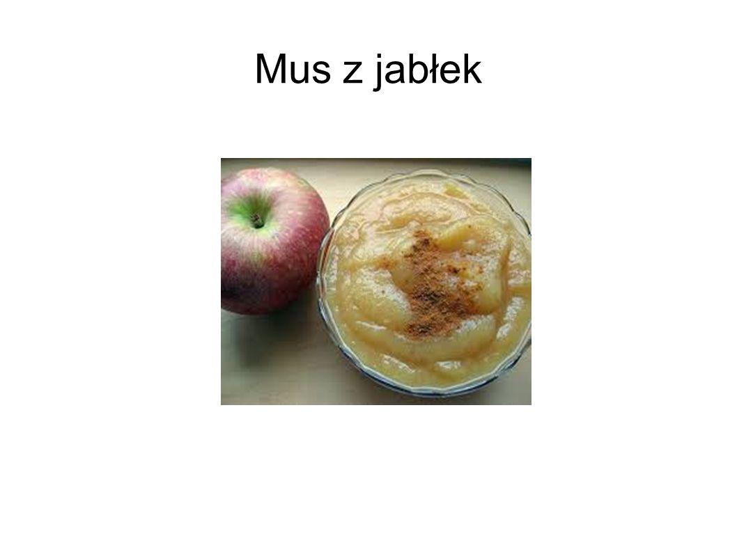 Mus z jabłek