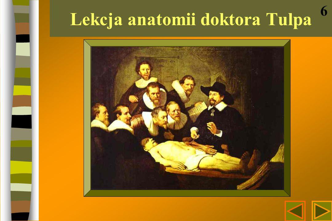 Lekcja anatomii doktora Tulpa 6
