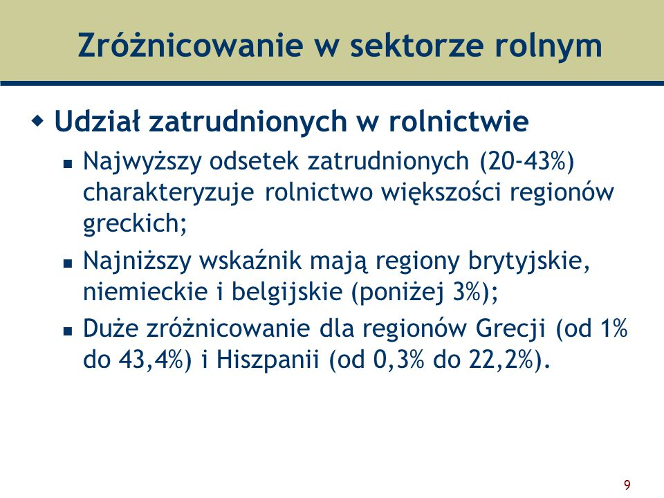 20 Wskaźnik wsparcia producentów rolnych (%PSE) Źródło: Kwieciński 2005
