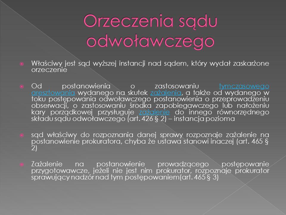  Nadzór nad działalnością sądów powszechnych i wojskowych w zakresie orzekania (art.