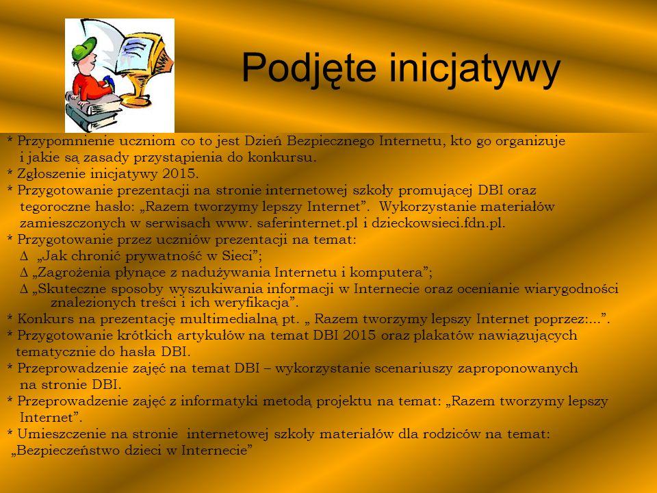 Konkurs na prezentację multimedialną pt.