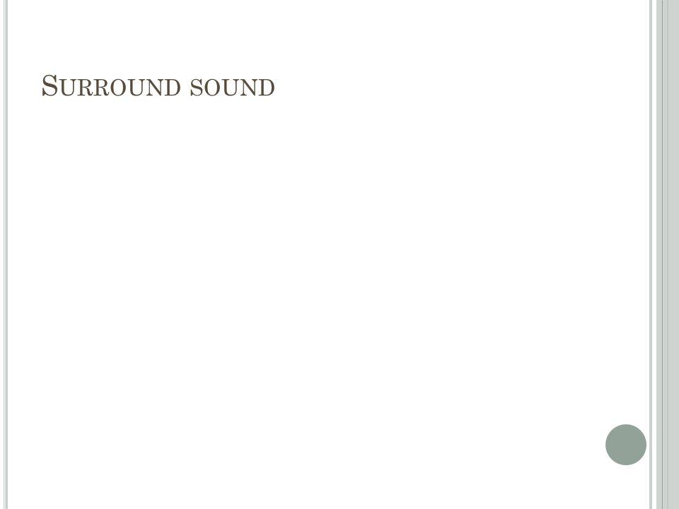 S URROUND SOUND