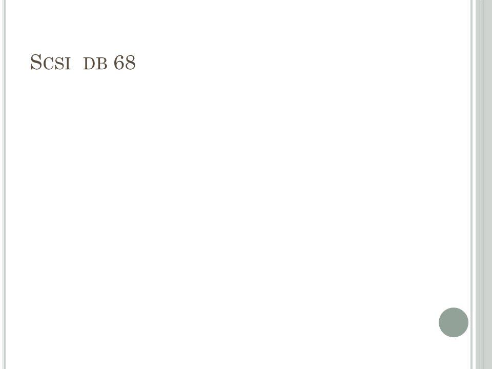 S CSI DB 68