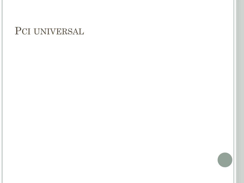 P CI UNIVERSAL