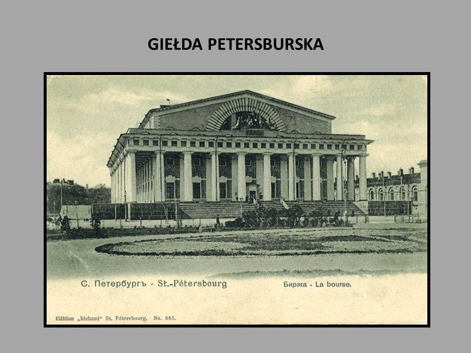 GIEŁDA PETERSBURSKA