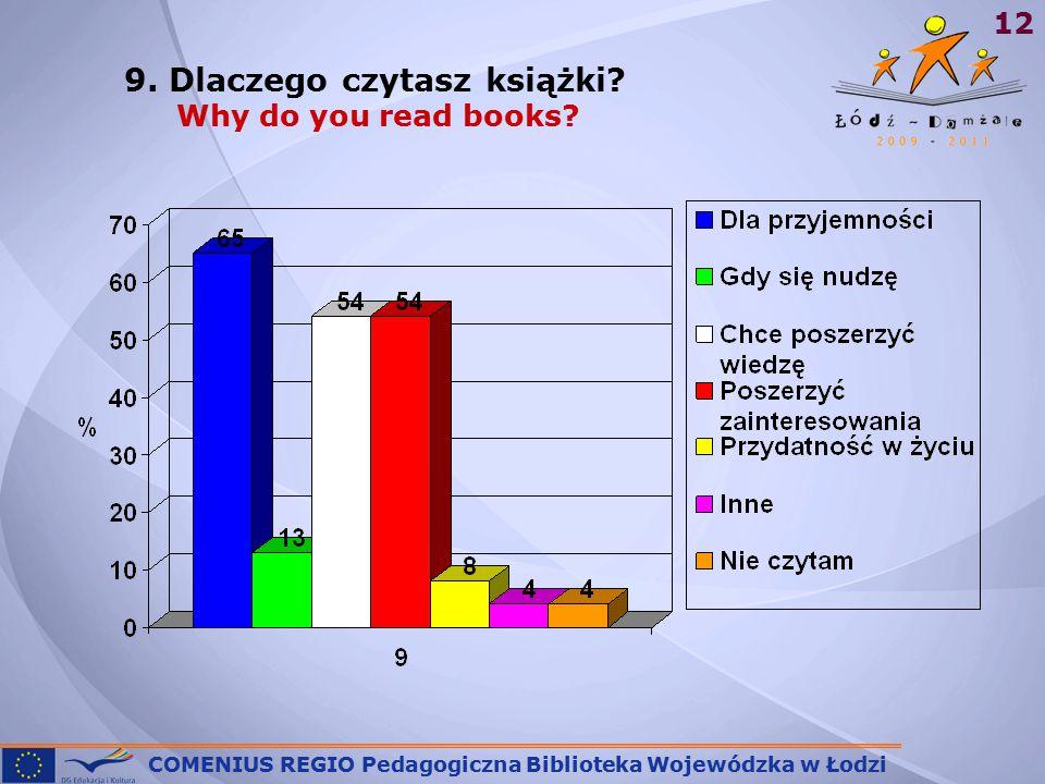 COMENIUS REGIO Pedagogiczna Biblioteka Wojewódzka w Łodzi 12 9.