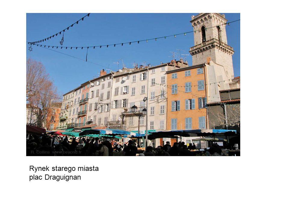 Rynek starego miasta plac Draguignan