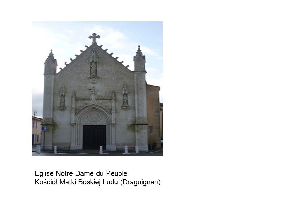 Eglise Notre-Dame du Peuple Kościół Matki Boskiej Ludu (Draguignan)