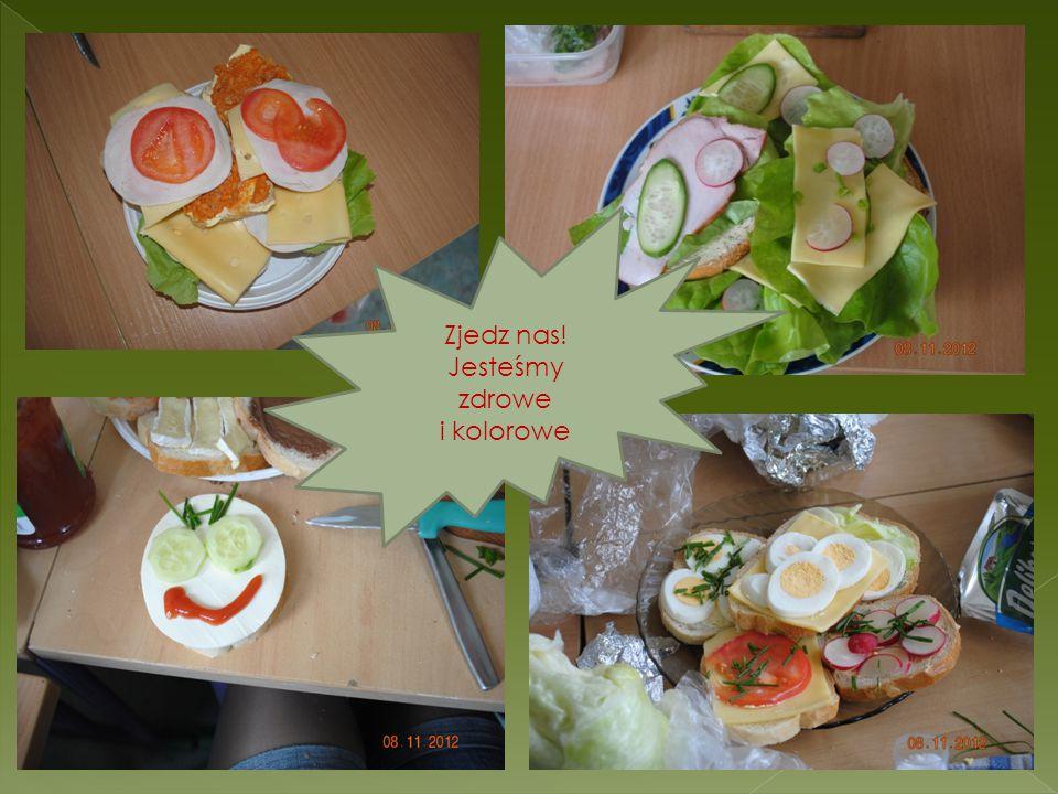 Zjedz nas! Jesteśmy zdrowe i kolorowe