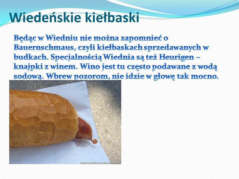 Wiedeńskie kiełbaski