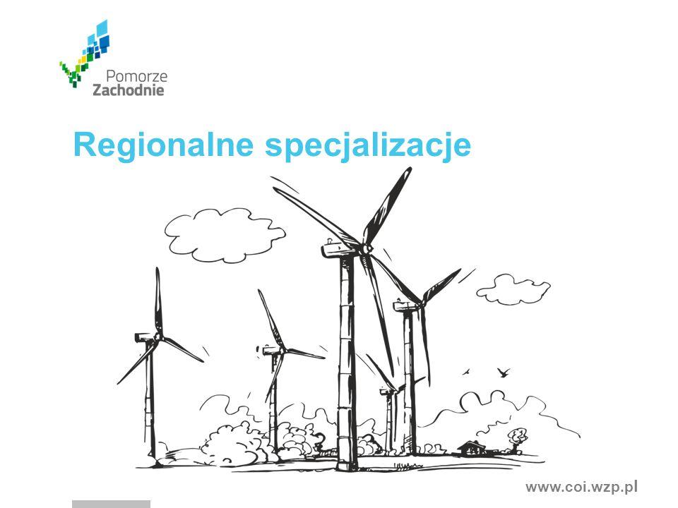 www.coi.wzp.p l Regionalne specjalizacje