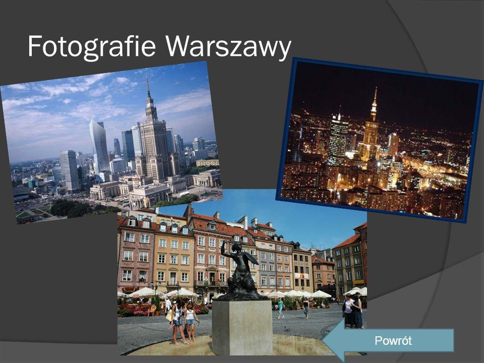 Fotografie Warszawy Powrót