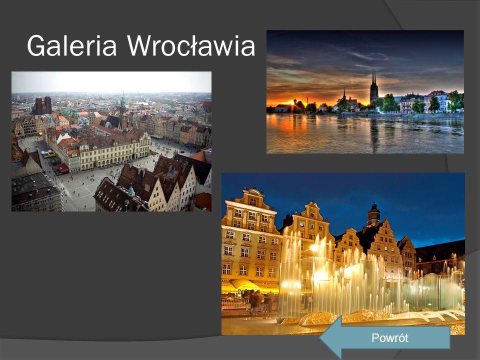 Galeria Wrocławia Powrót
