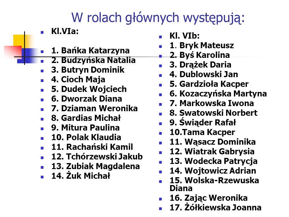 Scenariusz i reżyseria: Emilia Grądkowska Urszula Janicka