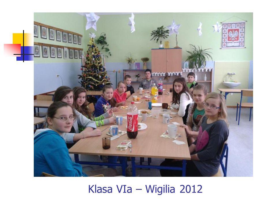 Klasa VIa – Wigilia 2012