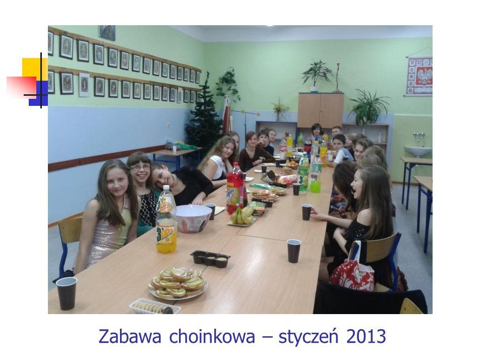 Zabawa choinkowa – styczeń 2013