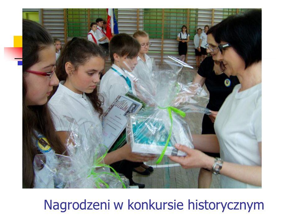 Nagrodzeni w konkursie historycznym