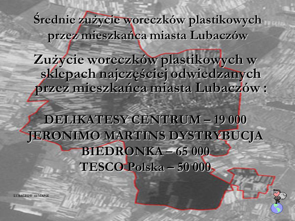 "Butelki PET w sklepie: ""DELIKATESY CENTRUM"" os. UNII LUBELSKIEJ ""TESCO"" Polska okres: od 1.03 do 31.03.2008"
